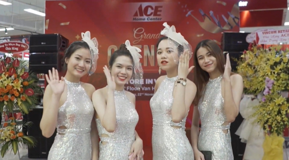 ACE Home Center - Grand Opening in Vietnam