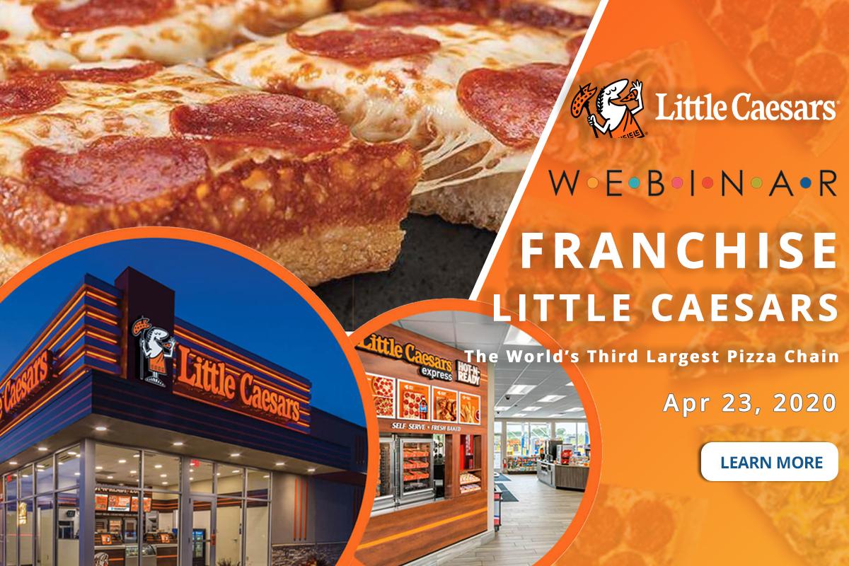 franchise little caesars pizza webinar