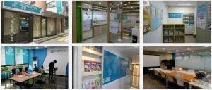 English centers in Korea