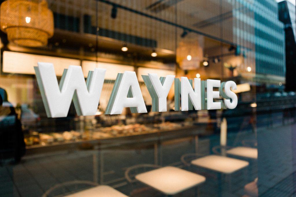 franchise waynes coffee