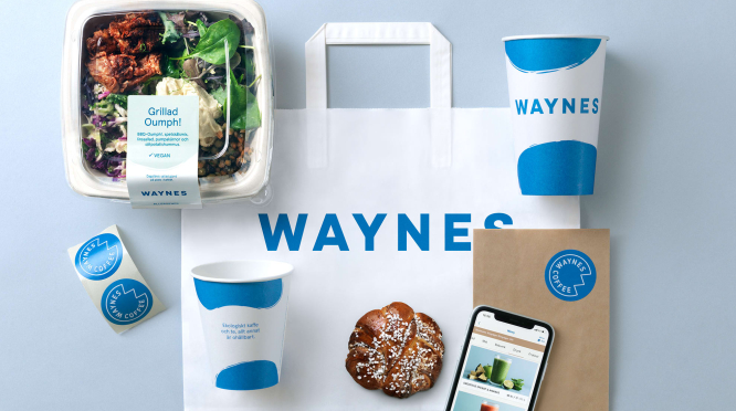 waynes franchise - Waynes Wins Gold In Nordic Brand And Design Competition