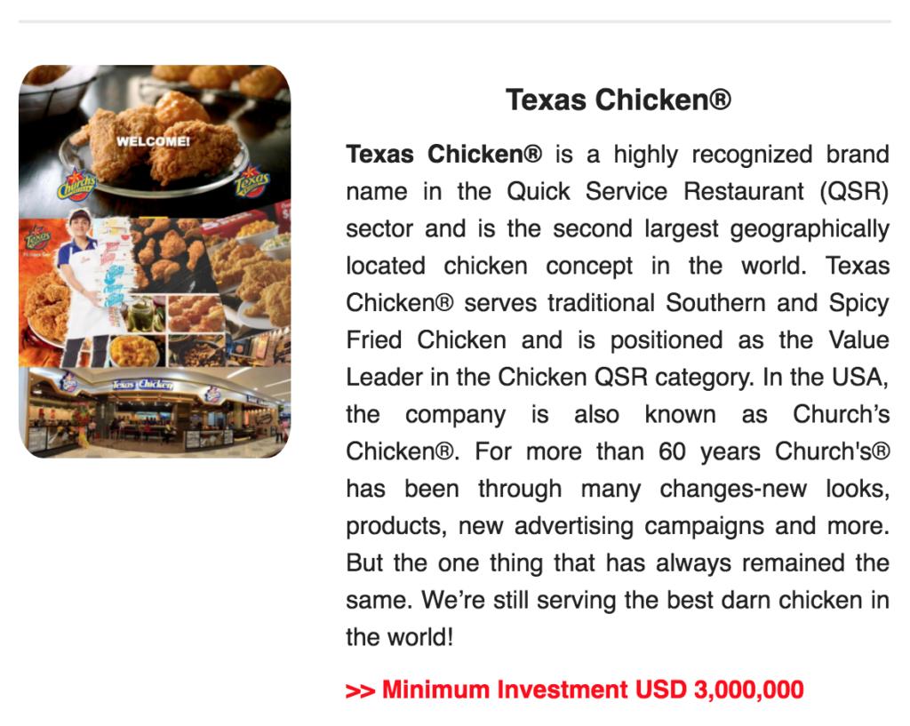 Japan Texas Chicken