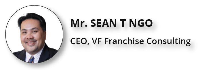 Sean T Ngo CEO of VF Franchise Consulting - Specialist for ASEAN
